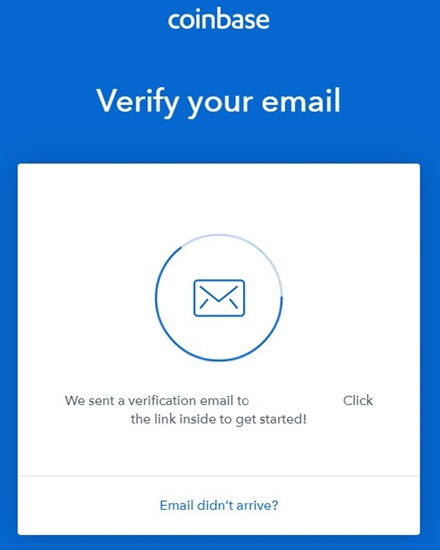 Coinbase E-postbekreftelse