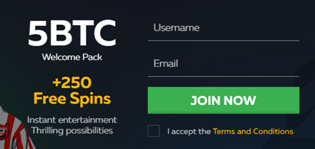 Fortunejack registrering